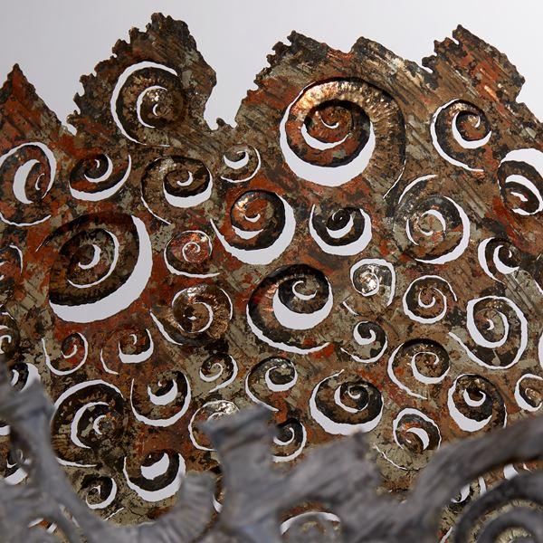 Ammonite close up 2